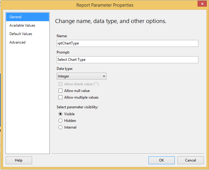 Change chart type dynamically SSRS - SQLRelease