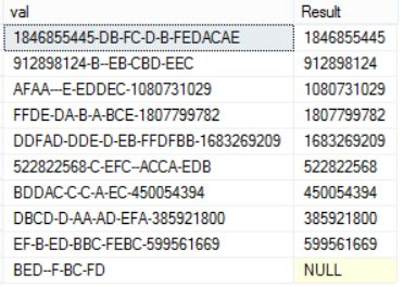 Query to extract thefirst number from an alphanumeric string