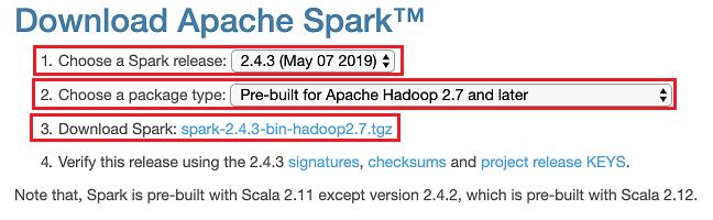 Download Apache Spark